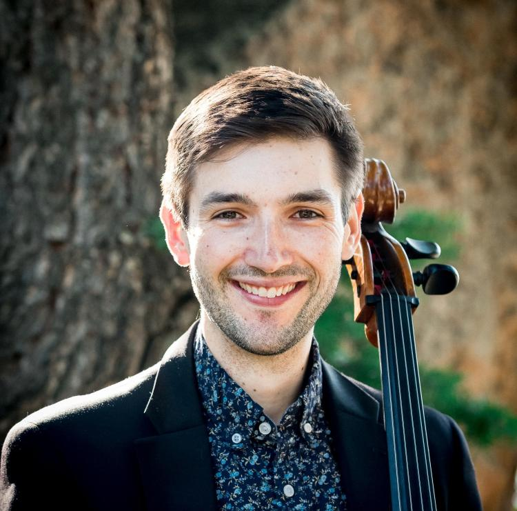 andrew briggs with cello