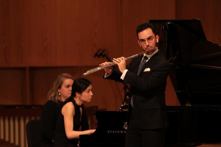 Kaleb Chesnic, flute
