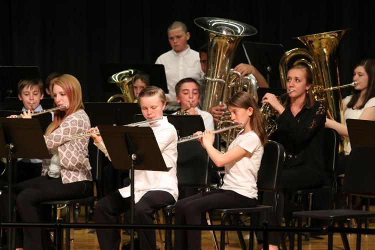 middle school ensemble concert