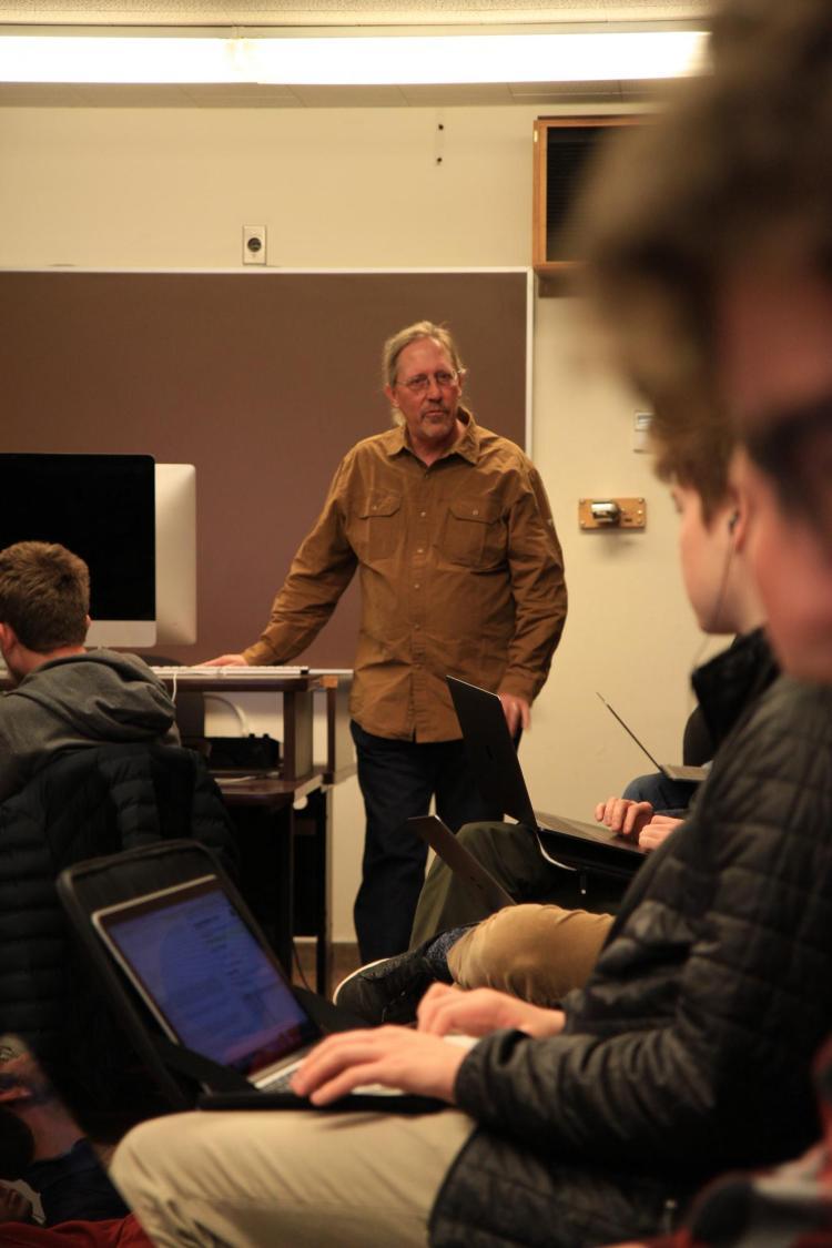 john Drumheller teaching