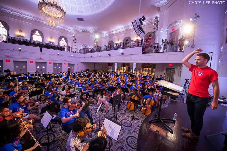 Andrew Crust conducting