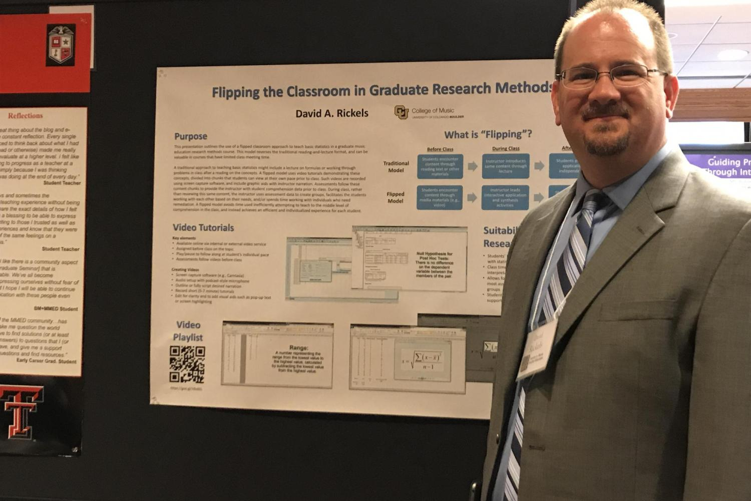 Dr. Rickels presents at the Symposium on Music Teacher Education