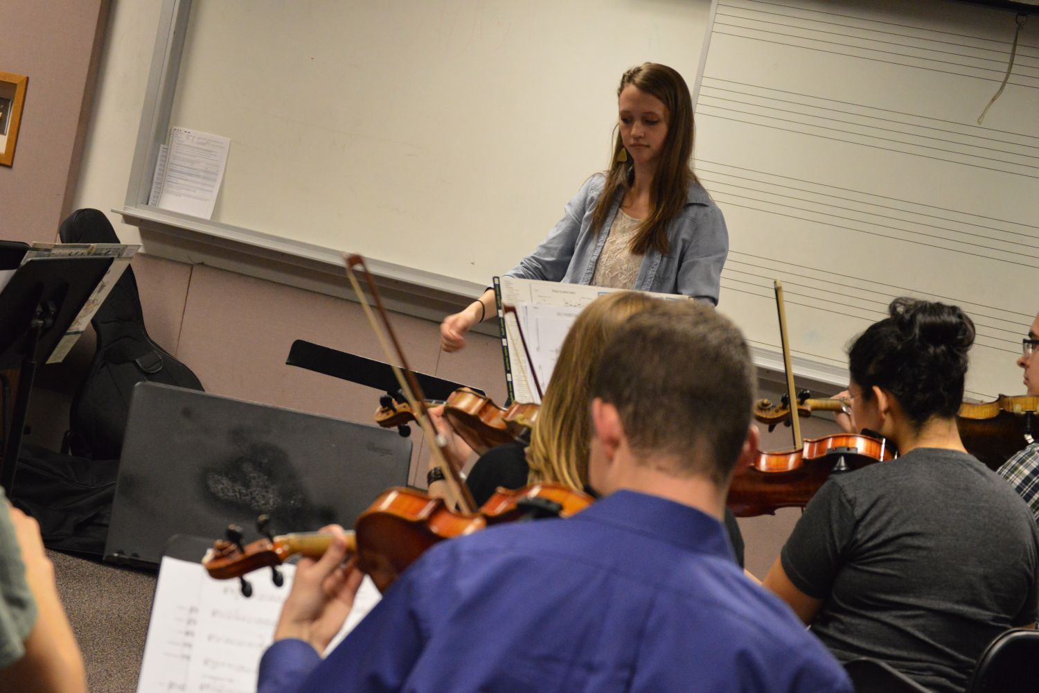 summer master's of music education class