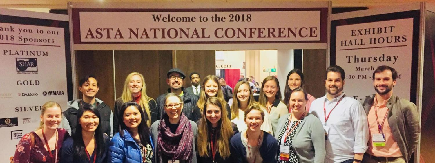 Group photo from the ASTA conference