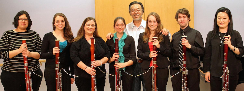 bassoon students