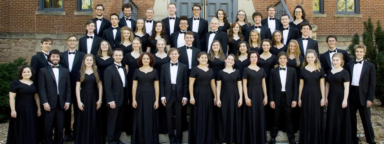 choir before performance