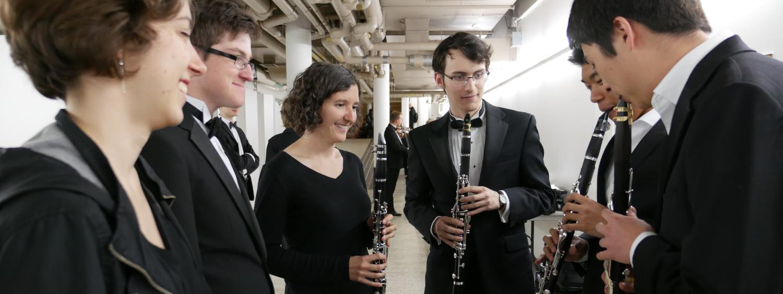 clarinet students