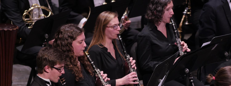 clarinet student performance