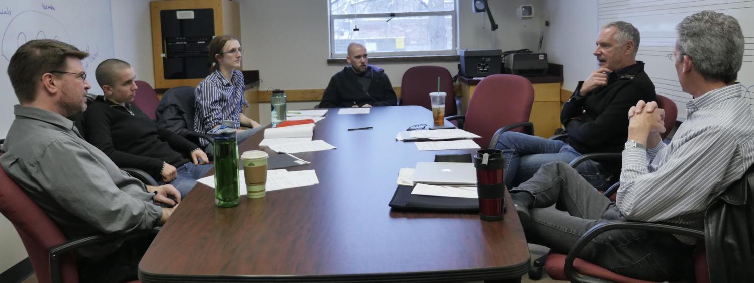 composition faculty meeting