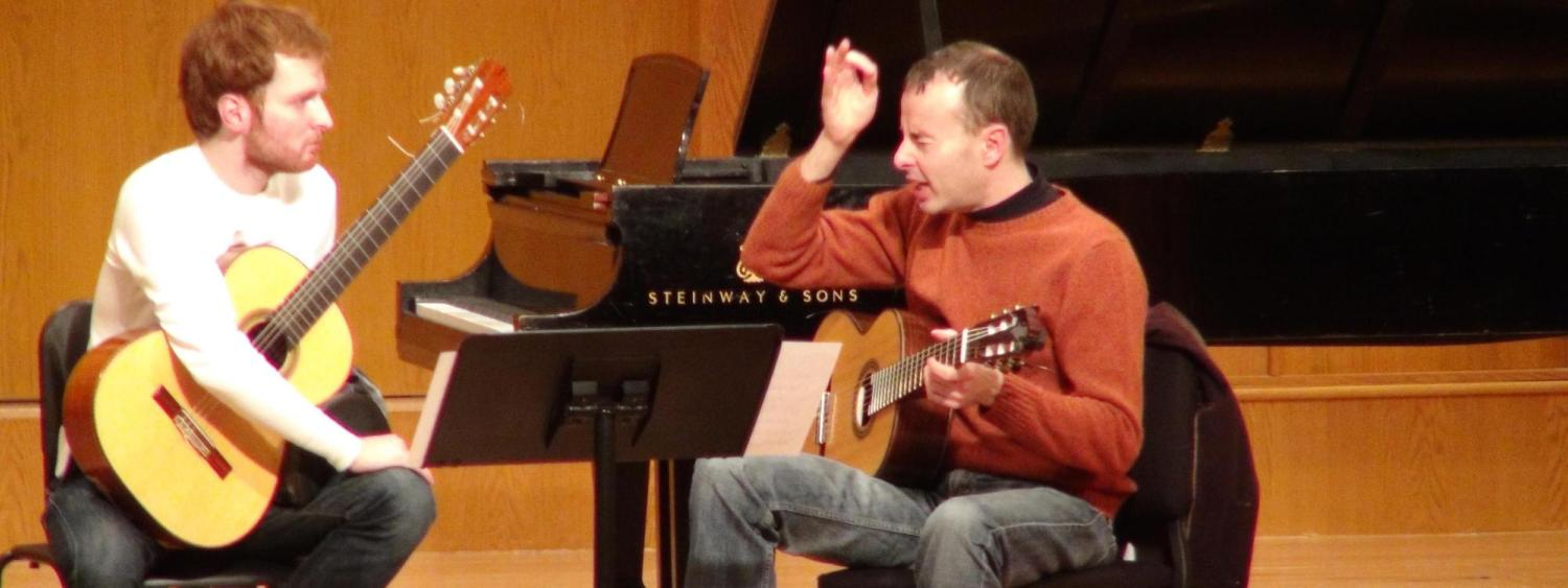 Ritter Family Classical Guitar Program | College of Music