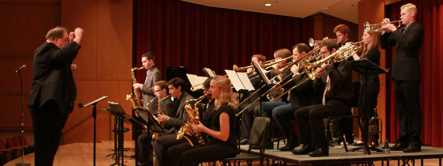 Jazz ensemble performance