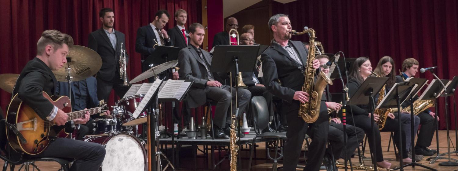Jazz Ensembles performance
