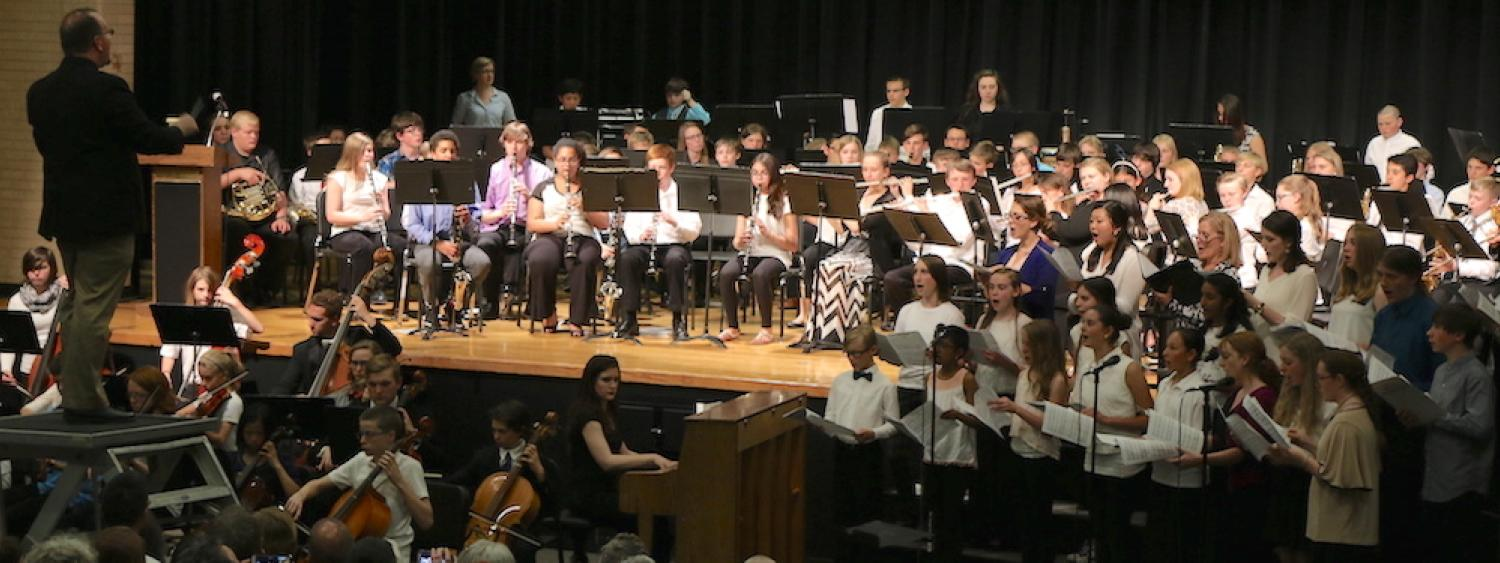 middle school ensemble performance