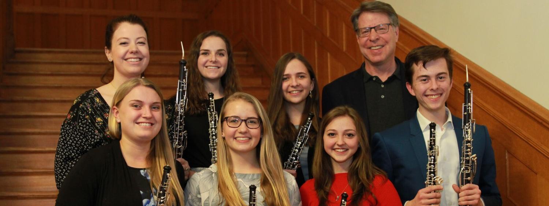 The 2019 oboe studio