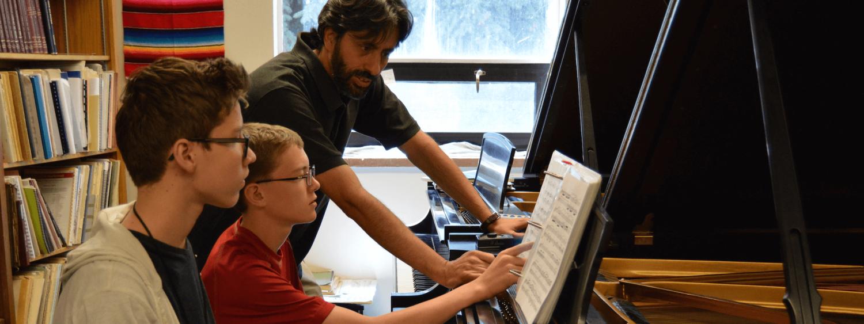 piano pedagogy students and teacher