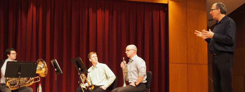 John Rojak Brass Quintet Class