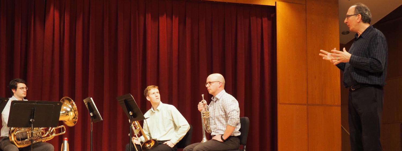 Rojak teaching trombone