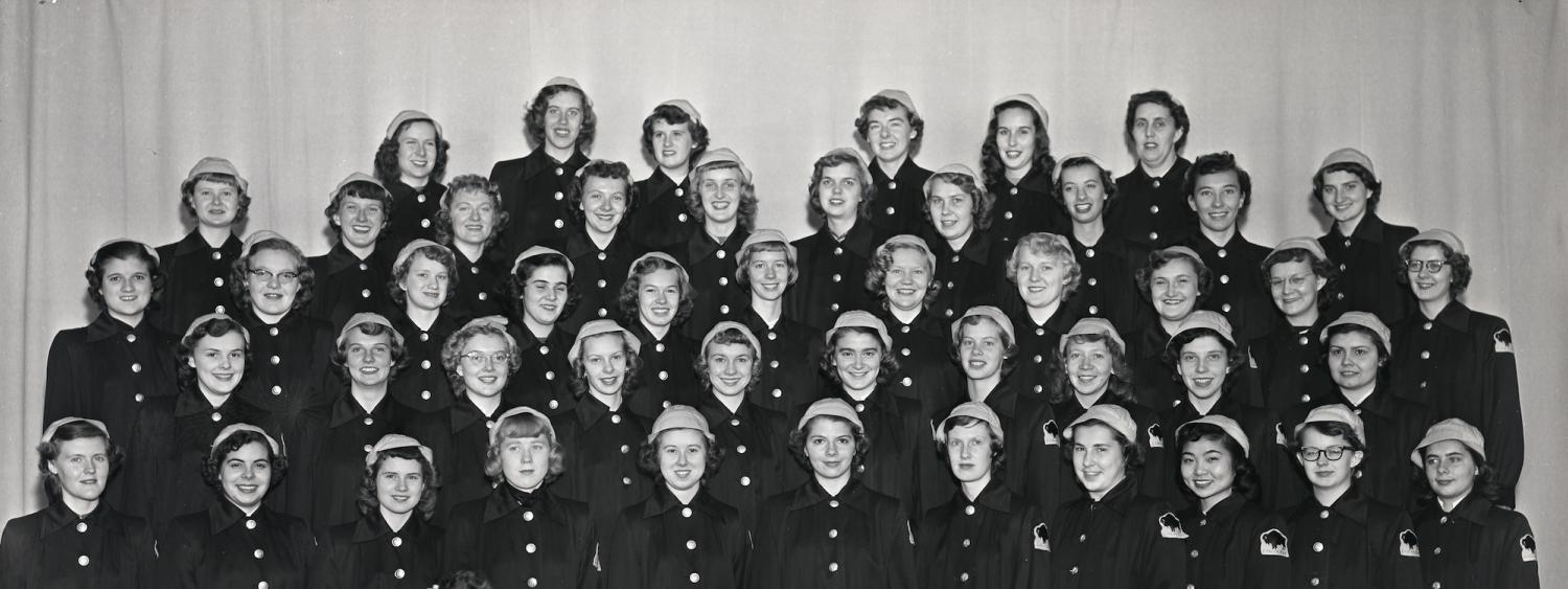 Women's band in the 1950s