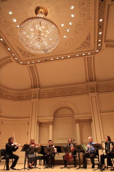 Alicia Baker at Carnegie Hall