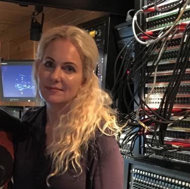 Schimmel at Le Mobile Remote Recording Studio, recording with Andrea Bocelli in Fall 2015