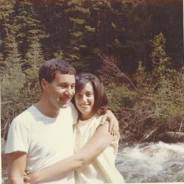 Sue and Barry Baer as CU Boulder students in 1965.