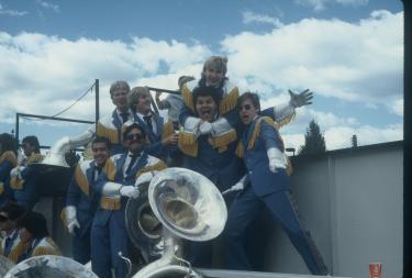 Walt Blankenship in band