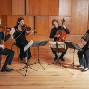 Takacs Quartet play in Grusin Music Hall