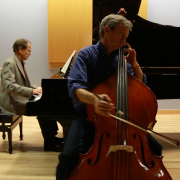 Paul Erhard rehearsing with David Korevaar