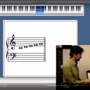 screenshot of alejandro's piano program