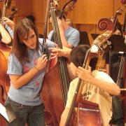 double bass students