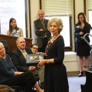 becky roser receives honor