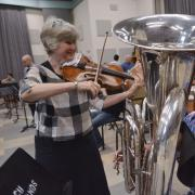 female musician for Cleveland Orchestra