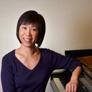 Daphne Leong at piano