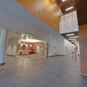 Imig Music Building entryway