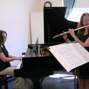 christina jennings and margaret mcdonald rehearsing