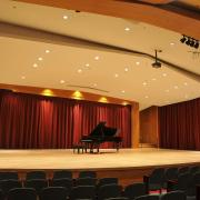 Grusin Hall with piano