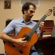 nicolo spera playing guitar