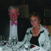 Doree Hickman and her late husband Jerry