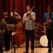 jazz students perform