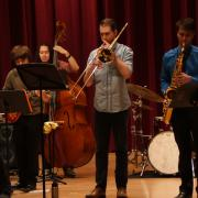 jazz students perform