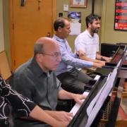 keyboard professors playing