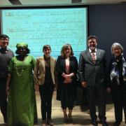 group at medieval conference