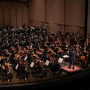 CU Orchestra Performing