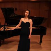 Sabina Balsamo on stage
