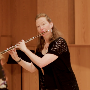 Christina Jennings master class at Panoramic Flutist Seminar