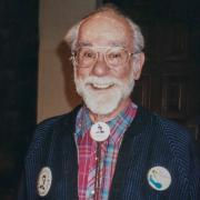 Stan Ruttenberg posing