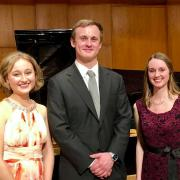 Student winners of the vocal scholarship competition