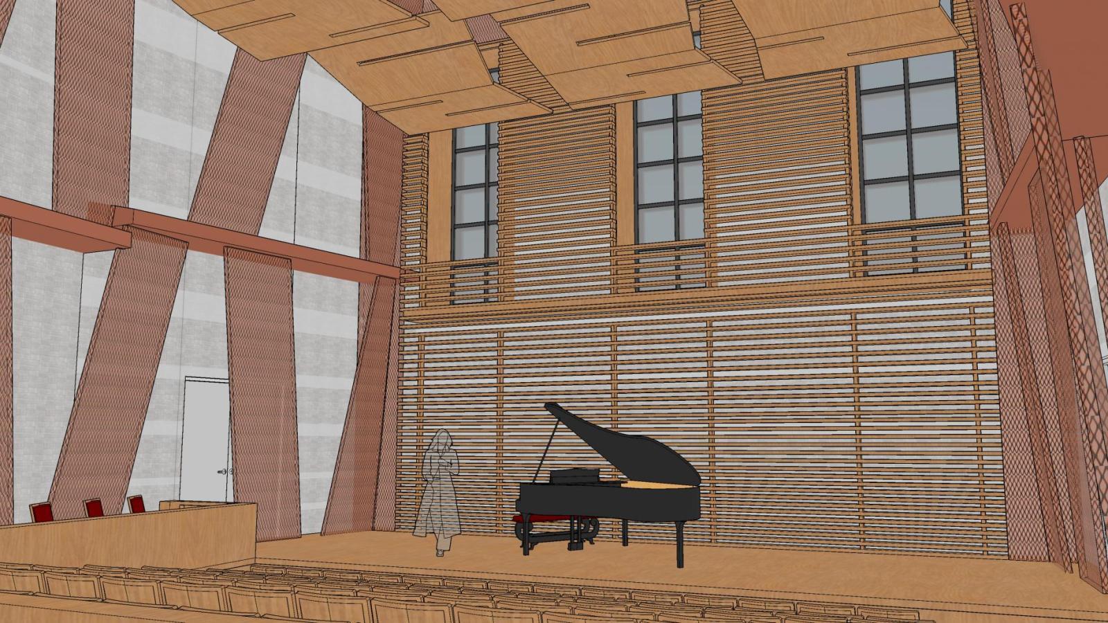 new recital hall