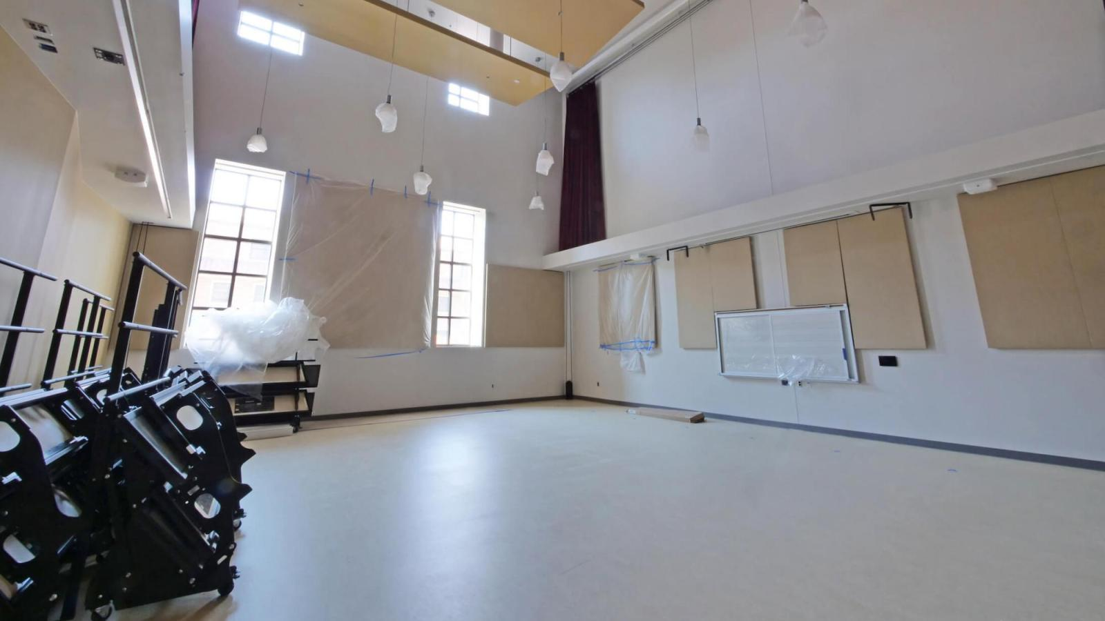 Interior rehearsal space