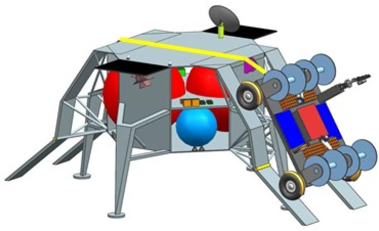 Conceptual design for the FARSIDE rover.